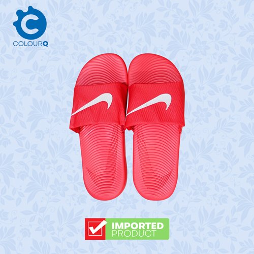 nike red slippers